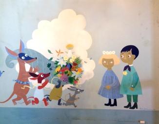 Aurora-kukkia lapsille
