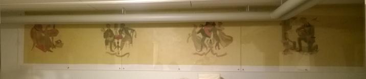 Neljä seinämaalausta
